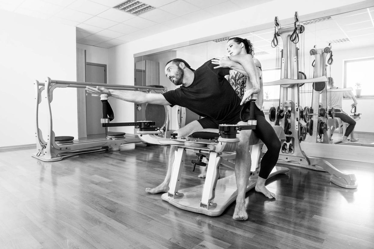 L'Associazione Sportiva Dilettantistica TONICARMONIA, Si occupa principalmente di Gyrotonic, Gyrokinesis e Danza. Si propone anche per coreografie specifiche per spettacoli dedicati a Eventi e serate di Gala.