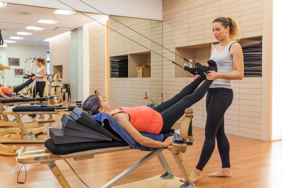 Gyrotonic pre e post parto. Esercizi per allungare la schiena e defaticare la zona lombare