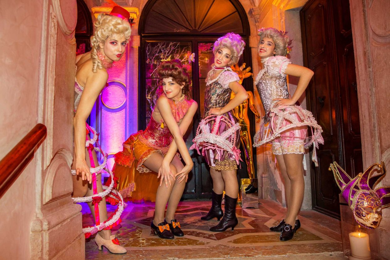 CARNIVAL GRAND BALL MASCHERADE - TONICARMONIA - Org. Venice Events